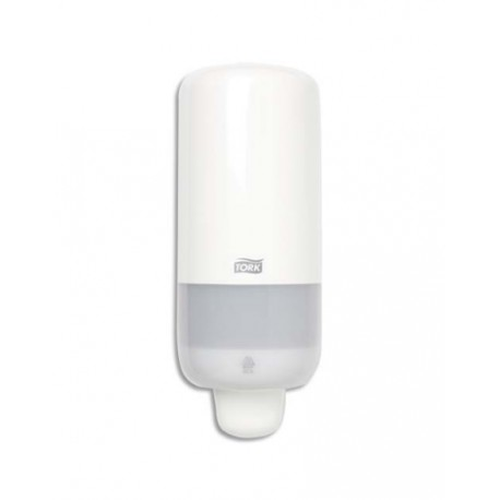Distributeur Tork savon mousse S4 box coloris blanc