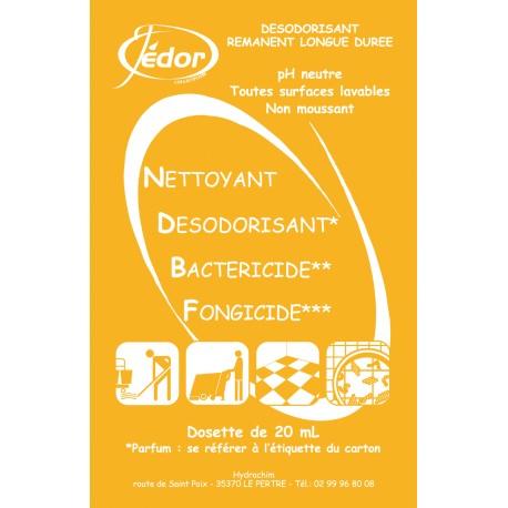 Dosettes de Nettoyant Désinfectant Surodorant Pamplemousse 250 x 20ml