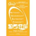 Dosettes 3D Nettoyant Désinfectant Surodorant Pamplemousse Carton 250