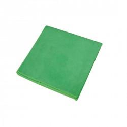 Lavettes Microfibres FIRST 250 gr/M² coloris VERT sachet 10