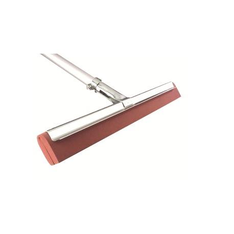 Raclette sol professionnelle mousse rouge 75cm