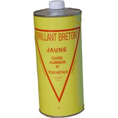 Brillant Breton jaune nettoyant cuivres et laitons