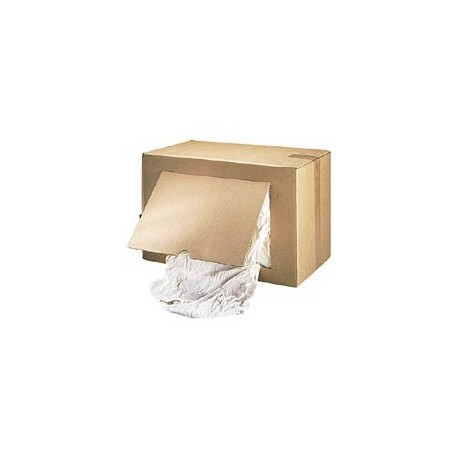 Chiffon coton blanc carton de 10kg