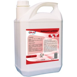 Nettoyant Sanitaire 4 en 1 Bidon 5L