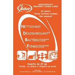 Dosettes 3D Nettoyant Désinfectant Surodorant Florale Carton 250