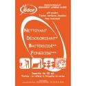 Dosettes de Nettoyant Désinfectant Surodorant Florale 250 x 20ml