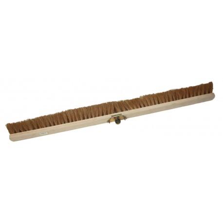Balai en bois fibre coco - 120cm